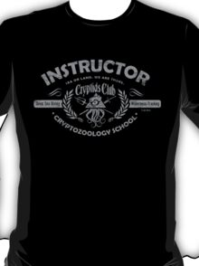 Cryptids Club Instructor T-Shirt