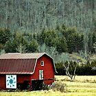 *The Red Barn* by DeeZ (D L Honeycutt)