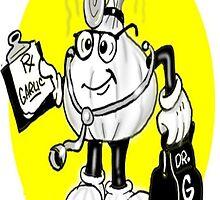 GARLIC CARTOON Cell Phone Cover by InspireCartoons