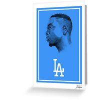 "Kendrick Lamar ""Los Angeles"" Greeting Card"