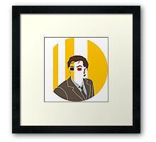 Doctor in a hole Framed Print