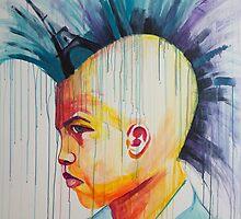 Mohawk by Danielle Mastrion by ArtBattles