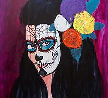 Day of the Dead by Danielle Mastrion by ArtBattles