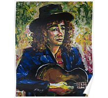 The Guitar Player by Zito Poster