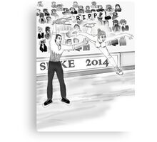 Olympic Accident: 10Points, 10Points, 10Points, Canvas Print