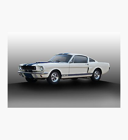 1966 Shelby Mustang G.T.350 I Photographic Print