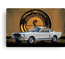 1966 Shelby Mustang G.T.350 II Canvas Print