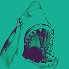 Shark (green) by Mason O'Halloran