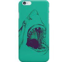 Shark (green) iPhone Case/Skin