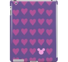 Hidden Mickey- Pink & Purple iPad Case/Skin
