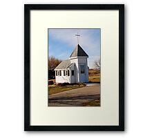 Blue Mound Wayside Chapel Framed Print
