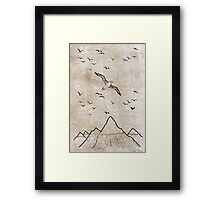 I have a thing about birds Framed Print
