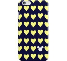 Hidden Mickey- University of Michigan iPhone Case/Skin