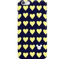 Hidden Mickey- University of Michigan iPhone Case/Skin