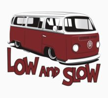 """VW Bay Camper Van """"Low and Slow"""" by velocitygallery"""