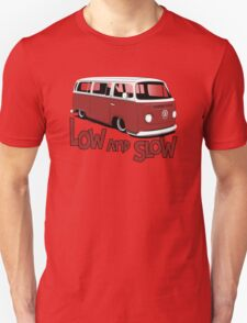 "VW Bay Camper Van ""Low and Slow"" T-Shirt"