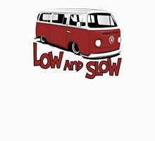 "VW Bay Camper Van ""Low and Slow"" Unisex T-Shirt"