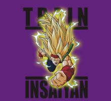 Train Insaiyan Super Saiyan 3 Bardock  by BadrHoussni