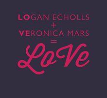 Logan + Veronica = LoVe Unisex T-Shirt