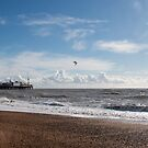 Brighton Pier and Clouds by Sue Robinson