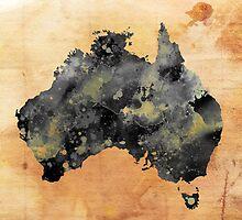 AUSTRALIA GRUNGE by Daniel-Hagerman