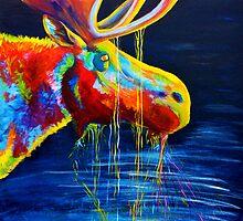Moose Drool by teshiaart