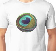 peacock feather Unisex T-Shirt