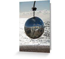 Glitterball at Brighton Greeting Card