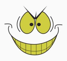 smiley face evil super villain genius plotting smile by wasootch