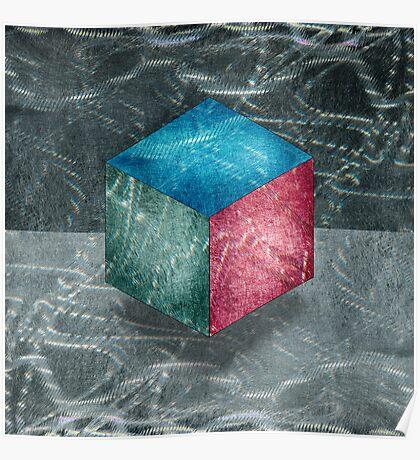 Aluminu, Cube RGB Poster