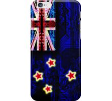 circuit board new zealand (flag) iPhone Case/Skin