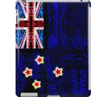 circuit board new zealand (flag) iPad Case/Skin