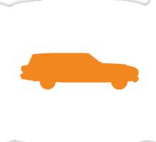 XM Falcon silhouettes (Wagon centre) Sticker
