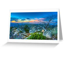 Mount Buffalo Greeting Card