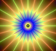 Radient Star by Objowl