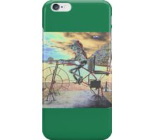 Frog Cycling, Sculptures By The Sea, Australia 2011 iPhone Case/Skin