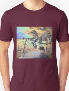 Frog Cycling, Sculptures By The Sea, Australia 2011 T-Shirt
