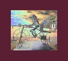 Frog Cycling, Sculptures By The Sea, Australia 2011 Unisex T-Shirt