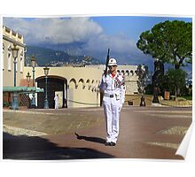 Guarding The Principality Of Monaco Poster