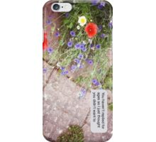 Summer texts iPhone Case/Skin