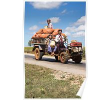 transporting onions Poster