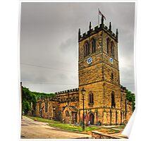 St Mary's, Barnard Castle Poster