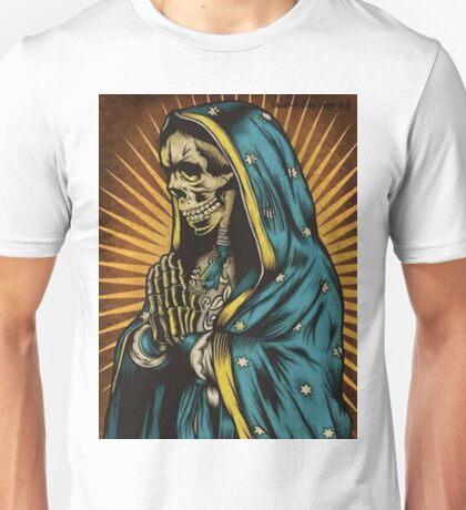 Virgin Mary skull Unisex T-Shirt