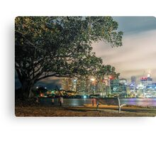 View from Balmain Canvas Print
