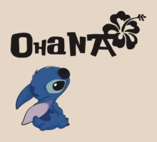 Stitch - Ohana by HiddenCorner