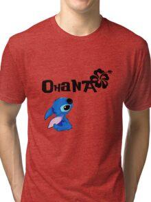 Stitch - Ohana Tri-blend T-Shirt