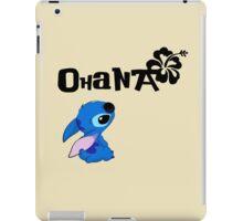 Stitch - Ohana iPad Case/Skin