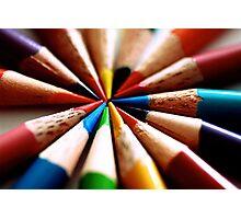 Colored Pencil 1 Photographic Print