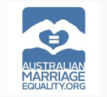 Australian Marriage Equality - Logo Vertical by Australian Marriage Equality