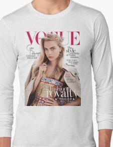 Cara Delevingne Vogue 2 Long Sleeve T-Shirt